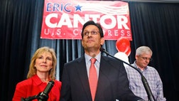 Eric Cantor's loss is historic. No sitting House majority leader has lost an election since the office was created in . While Cantor's loss was a stunning surprise, the warning signals were around for a while: