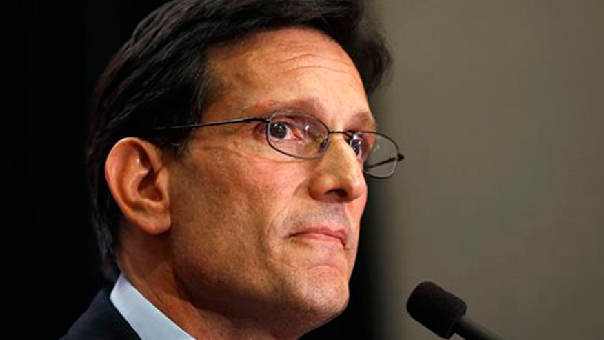 Eric Cantor delivers concession speech