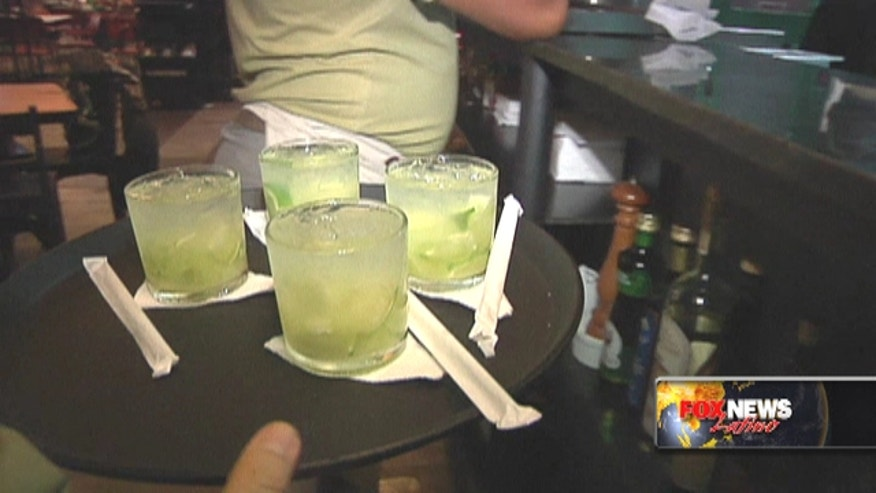 Bryan Llenas reports on Brazil's national drink, the sugarcane liquor cachaça.