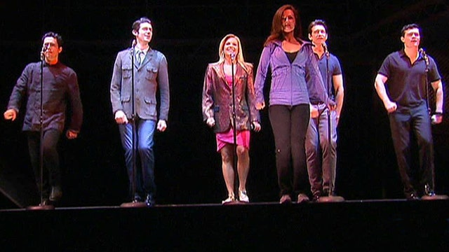 'Jersey Boys' heats up Broadway stage