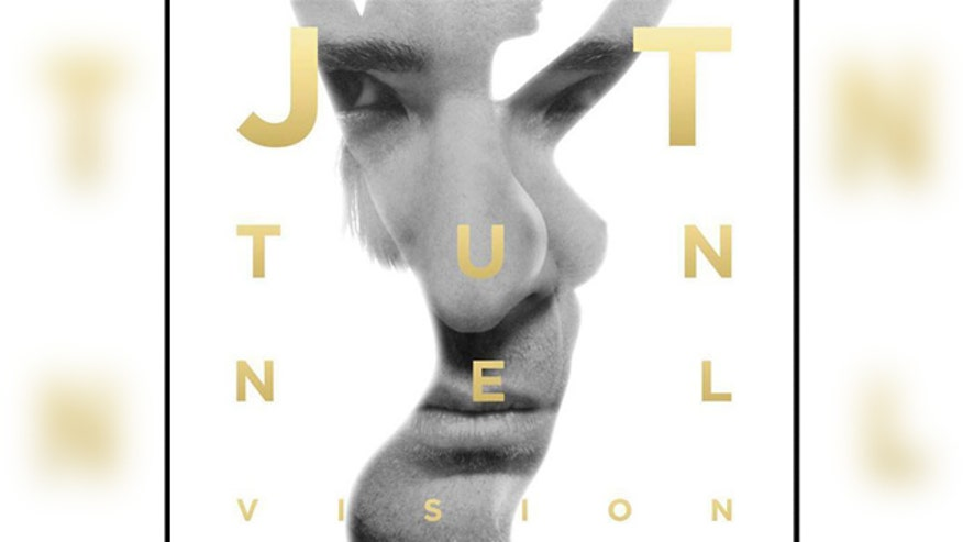 Justin Timberlake's new album cover is a sexy optical illusion.