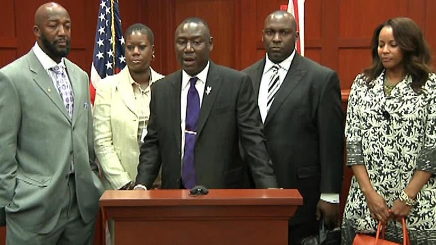 Raw video: Martin family news conference