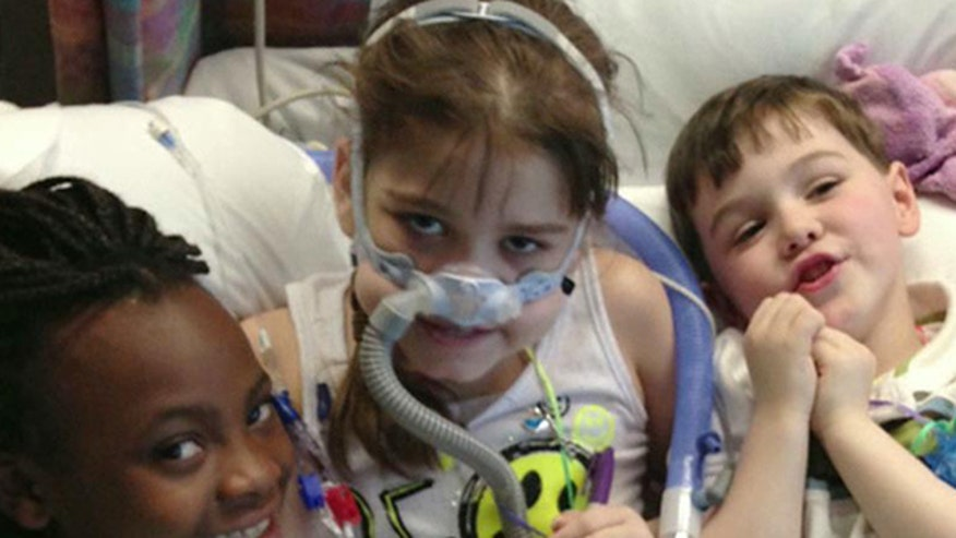 10-year-old finally receives lungs