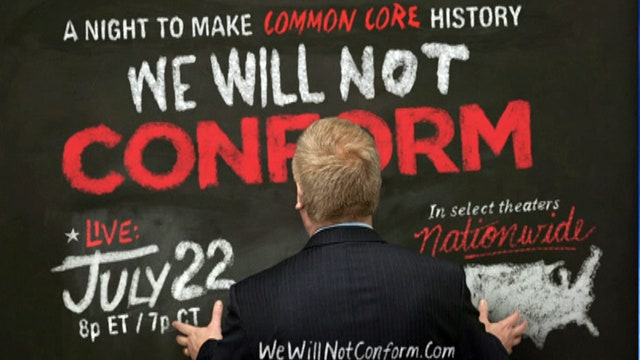 'We Will Not Conform' takes aim at Common Core