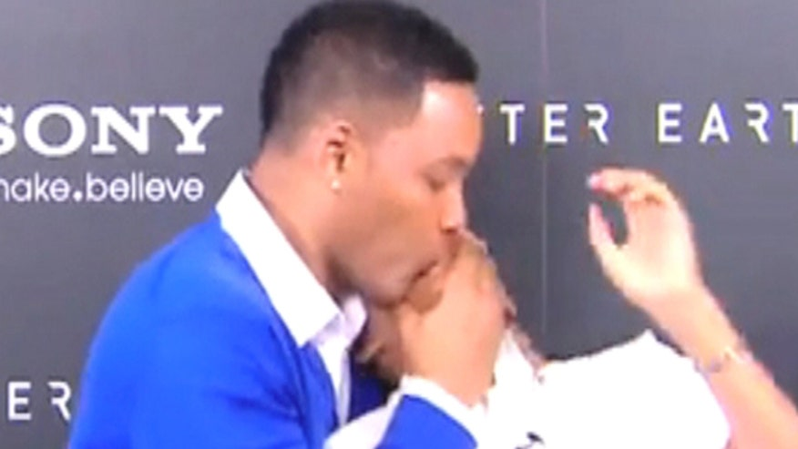 Will Smith may just be the most embarrassing celebrity dad out there.
