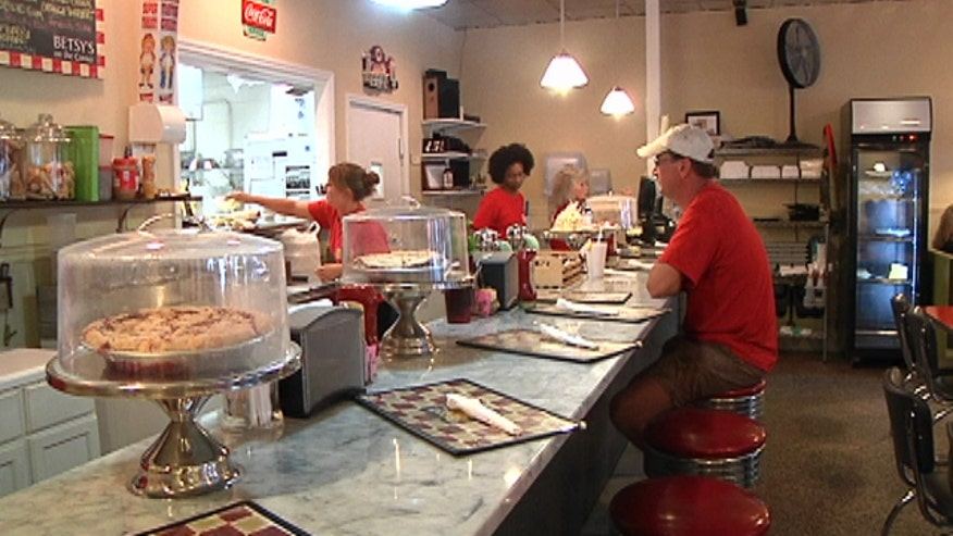 Betsy's On The Corner in Aiken, South Carolina makes old fashioned diner a reality