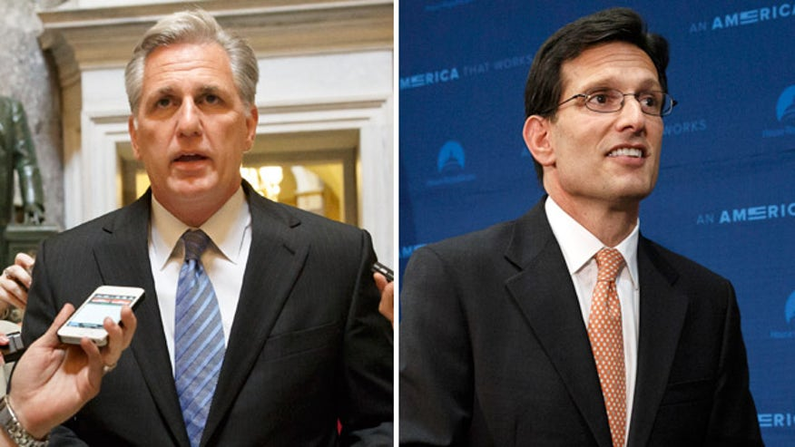 Rep. McCarthy likely to succeed Cantor after rivals bow out