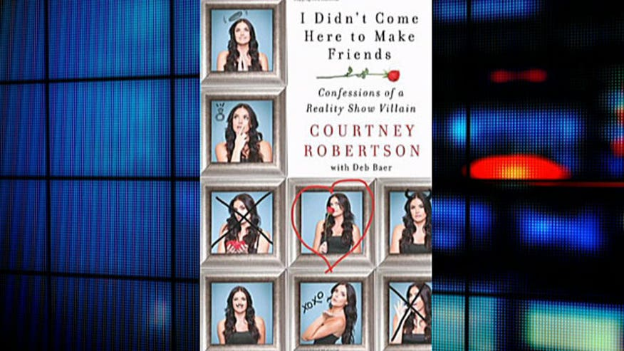 Courtney Robertson spills show secrets in new book