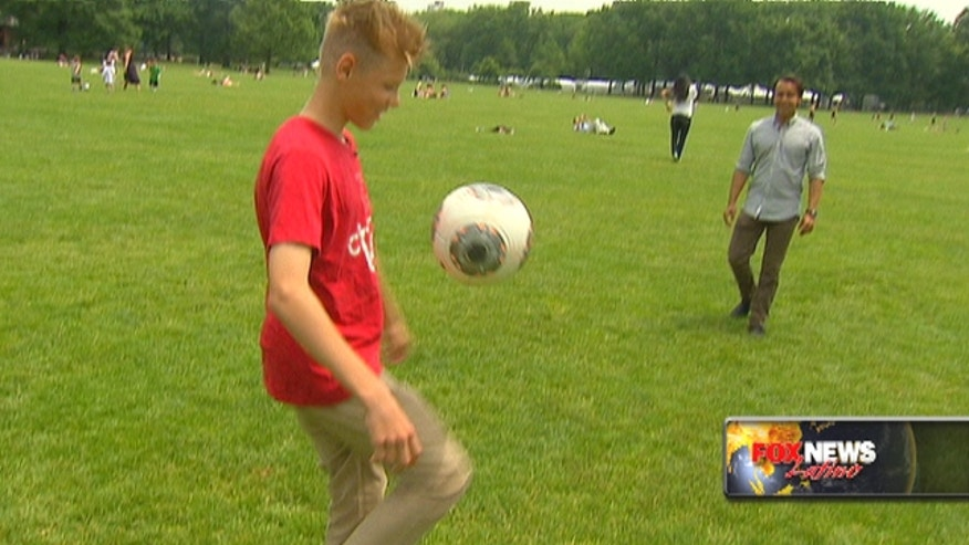A big heart and a love of the game is all it took for one 10-year-old boy from Michigan to start an international soccer charity.