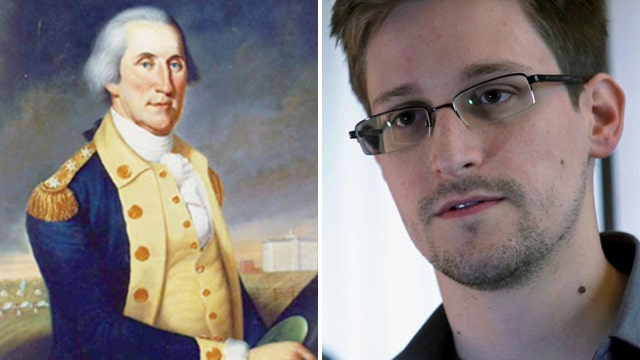 NSA leaker: What would George Washington do?