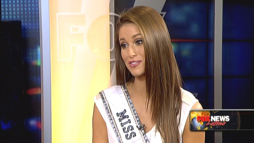 Miss USA Nia Sanchez is half-Mexican half-European - something she very proud of and nothing she would ever change, though someone told her to before.