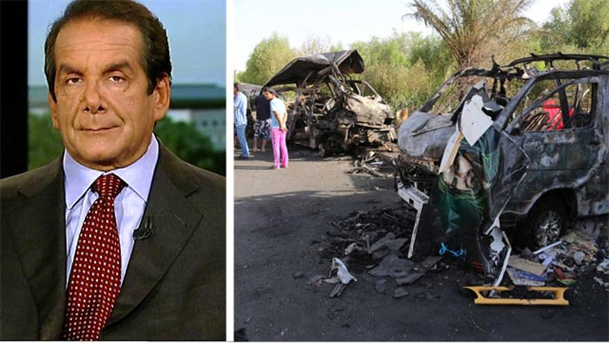 "Krauthammer said Obama's handling of our withdrawal from Iraq leaves us ""no good options."""