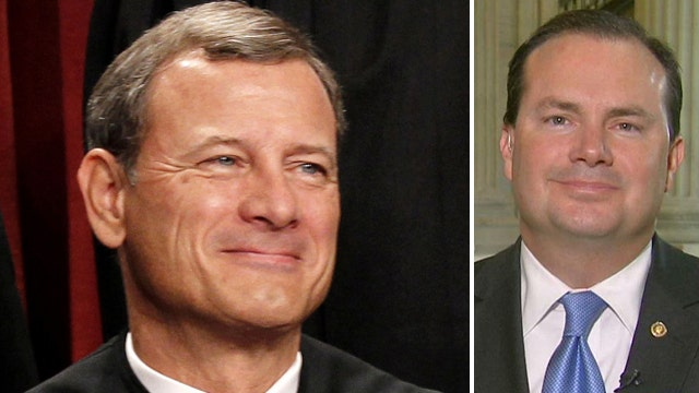 Sen. Mike Lee's beef with Chief Justice John Roberts