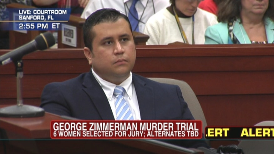 All-women jury chosen for George Zimmerman's trial in fatal Trayvon Martin shooting.