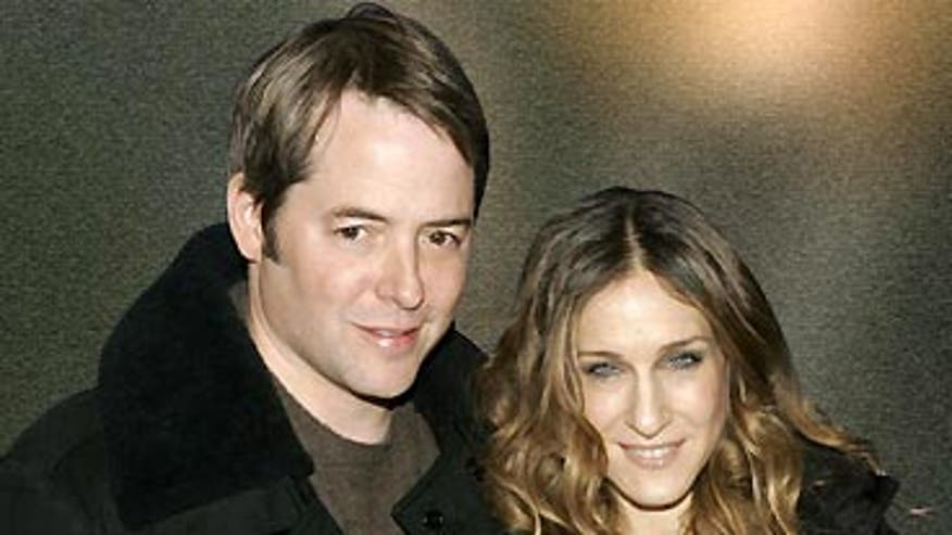 Actors Matthew Broderick and Sarah Jessica Parker say they still smoke occasionally; their 5-year-old is 'curious' about cigarette butts
