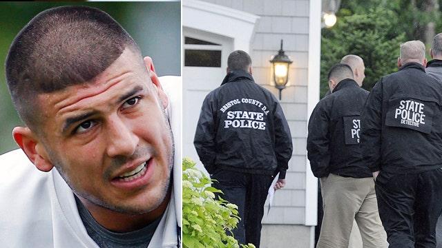 Police investigate NFL's Hernandez