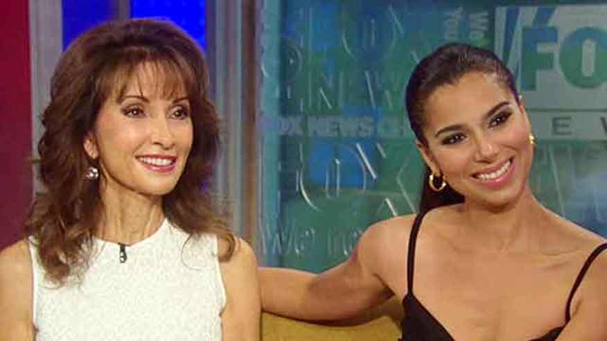 Susan Lucci and Roselyn Sanchez on 'Fox & Friends'