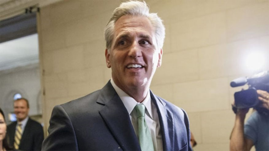 We speak with Kevin McCarthy in his first interview since becoming Majority Leader-elect