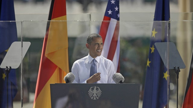Did the media soften coverage of Obama's trip abroad?