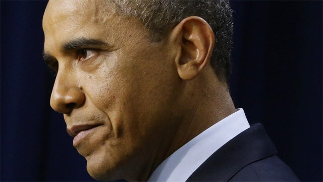 Recent scandals finally taking a toll on Obama?