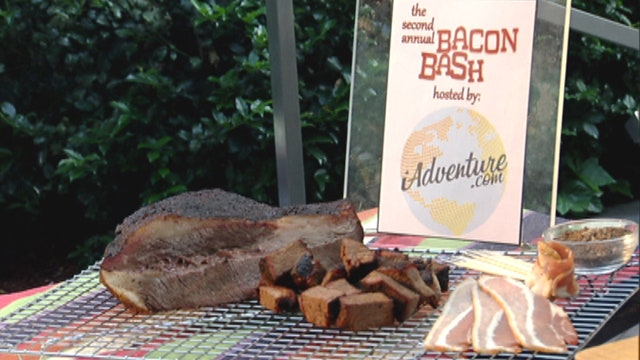 Craving bacon? Chef curls up some flavorful treats