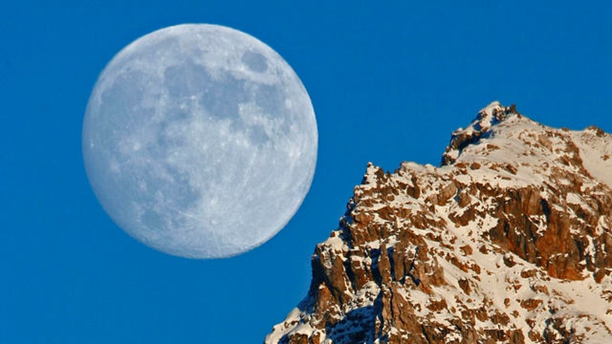 The moon will appear larger in the sky on Sunday