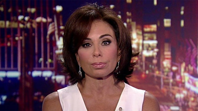 Judge Jeanine: The president is playing a dangerous game