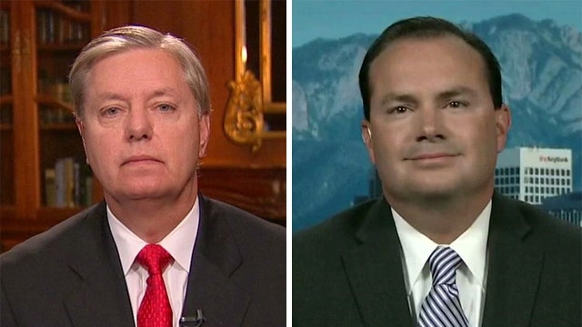 Sens. Graham, Lee talk Edward Snowden, GOP immigration split