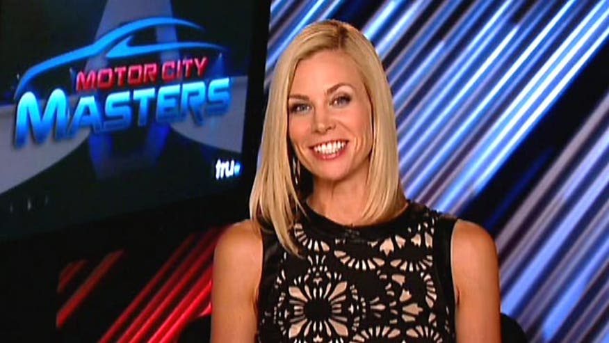 Brooke Burns talks 'Baywatch' and hosting new competition show 'Motor City Masters'