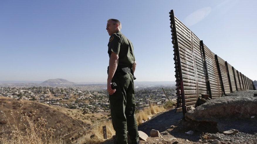 Fred Burton on whether a buildup of law enforcement could stop surge in illegal immigration