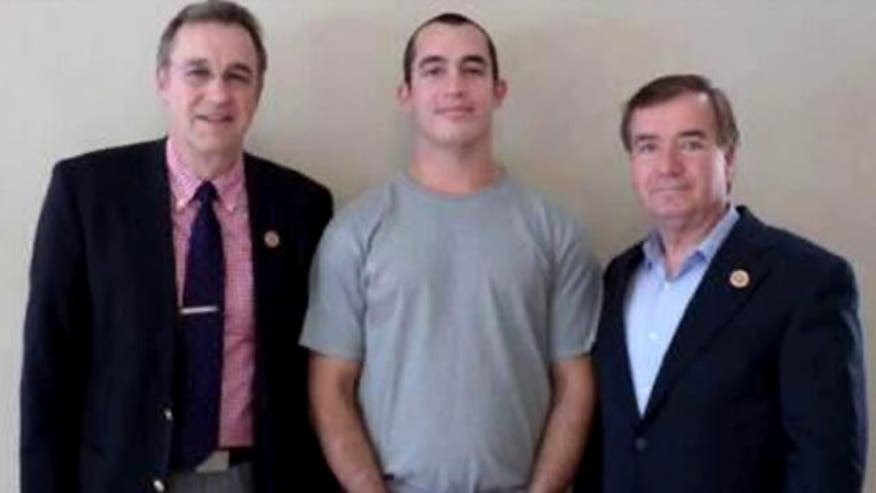 Two lawmakers detail their jailhouse visit with Sgt. Andrew Tahmoressi. #MarineHeldinMexico