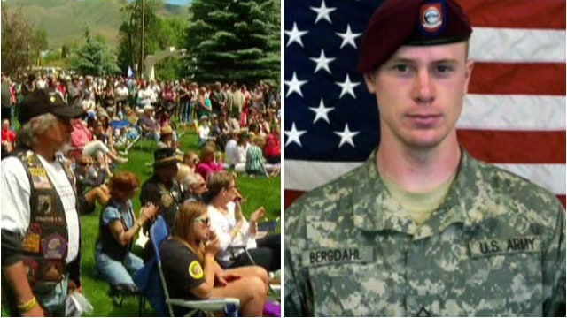Thousands rally for US POW held by Taliban