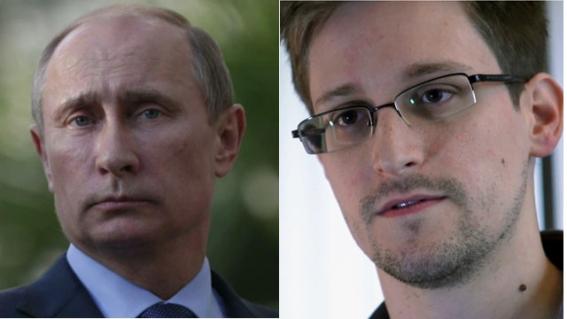 Putin sending a message to Obama with Snowden?
