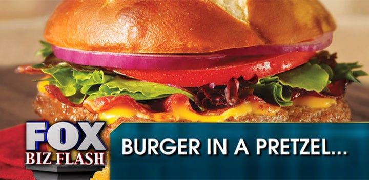 Wendy's Rolls Out Pretzel Bacon Cheeseburger