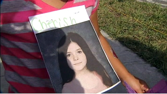 Vigil for murdered 8-year-old girl