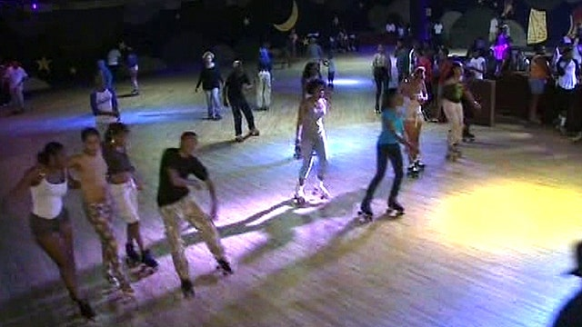 One last lap around the roller rink