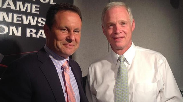 Brian and Senator Ron Johnson