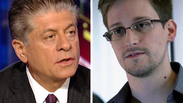 Judge Napolitano on Snowden: 'Heroes can be flawed'