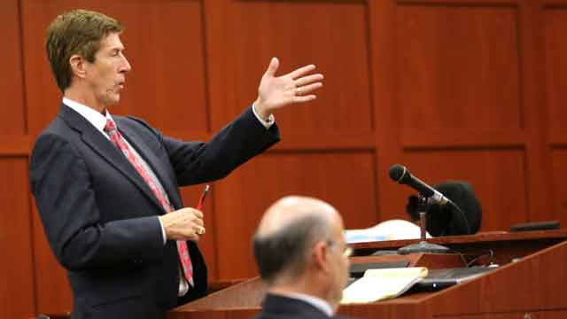 Hard-hitting start to George Zimmerman trial