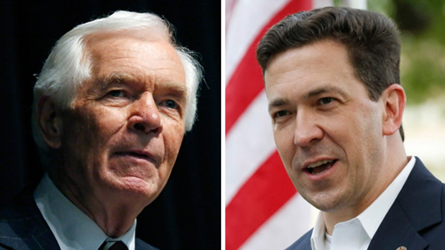 Thad Cochran faces Tea Partier Chris McDaniel