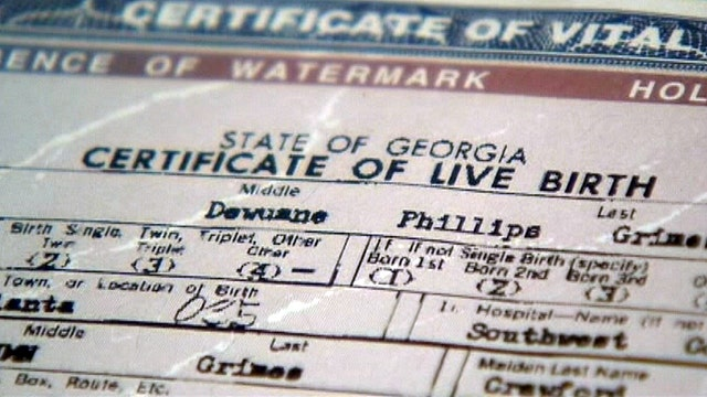 Wrong gender on birth certificate