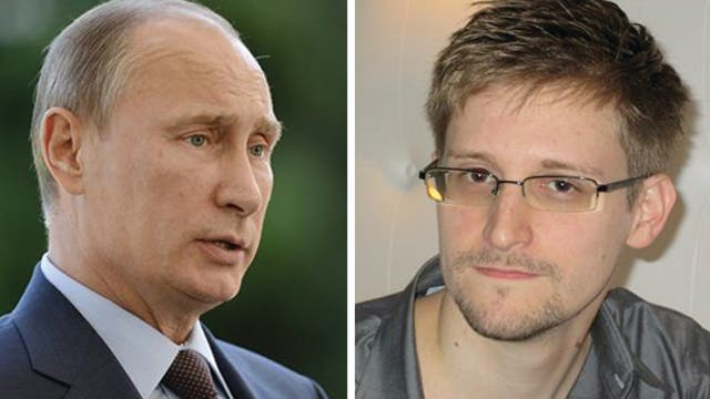 NSA leaker Edward Snowden hiding in Russia