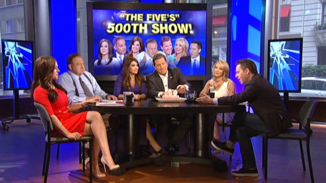 The Five celebrates 500 shows!