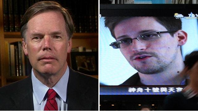 Nicholas Burns: Snowden has done 'enormous damage'
