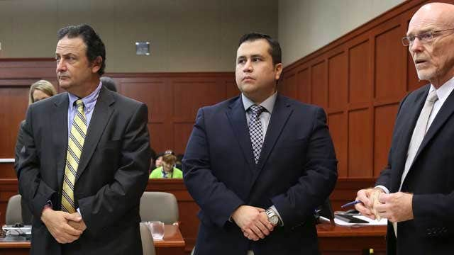 How will female jury analyze Zimmerman self-defense stance?