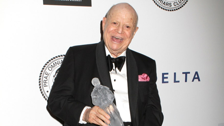 Don Rickles is Honored with an Award from The Friars Foundation