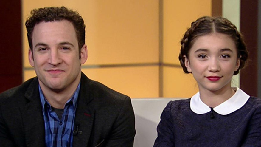 Ben Savage, Rowan Blanchard on the new series