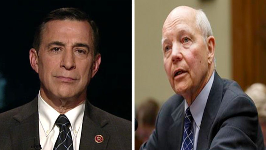 Reaction from Rep. Darrell Issa
