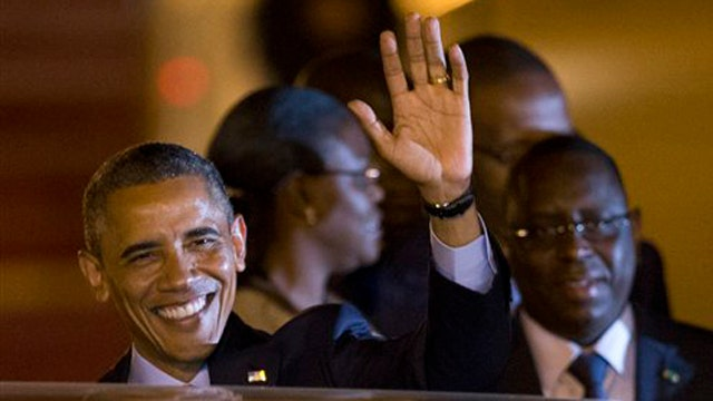 How do Americans feel about Obama's $100M trip to Africa?