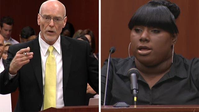 Zimmerman attorney cross-examines prosecution's star witness